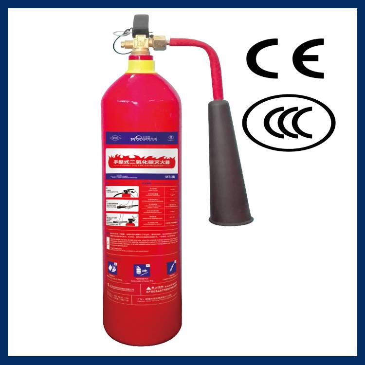 High quality portable type CO2 fire extinguisher in Vietnam