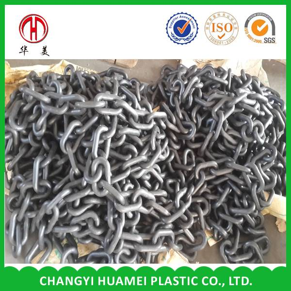 Plastic coated  long link chain