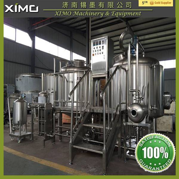 CE ISO Certification Beer fermentation Processing Beer Brewpub