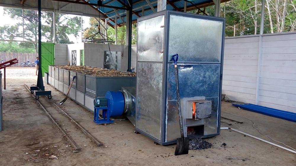 MSU-H6 cassava dryer, cassava chip drying machine