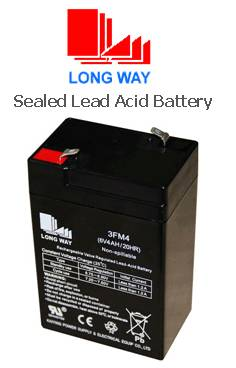 sealed lead acid battery/3FM4(6V4a/20hr)