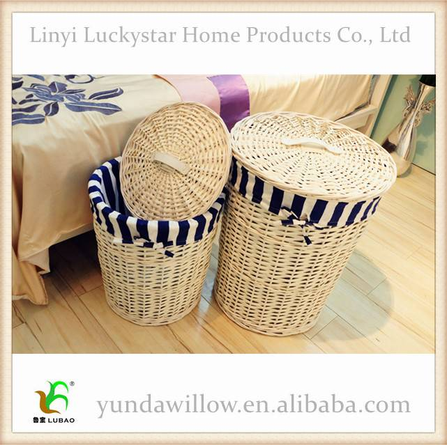 China Direct Wholesale Wicker Laundry Basakets For Dirty Clothes