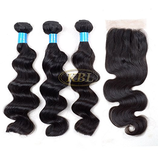 hair weft+lace closure