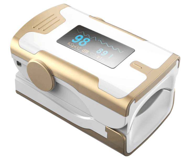 New design-fingertip pulse oximeter