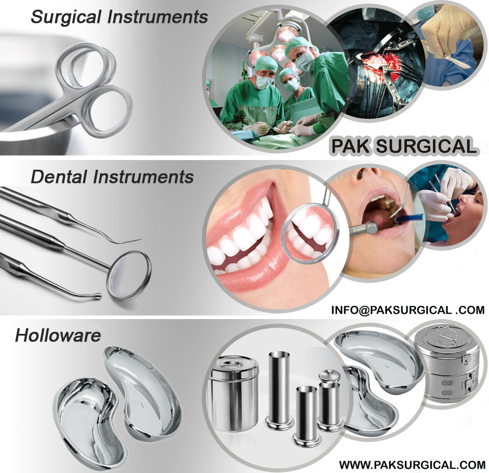 Surgical Dental instruments Pak surgical