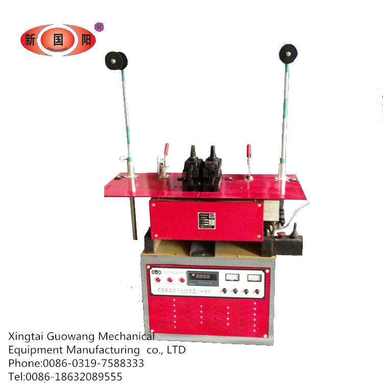 The semi-automatic saw blade welder