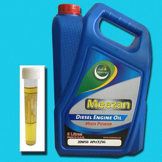 Diesel Engine Oil 20w50 5 liter