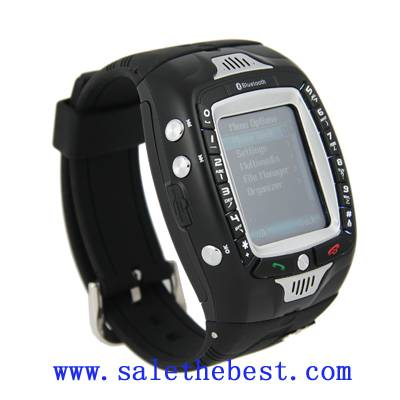 Tri-band  touch screen watch mobile phone(A808)