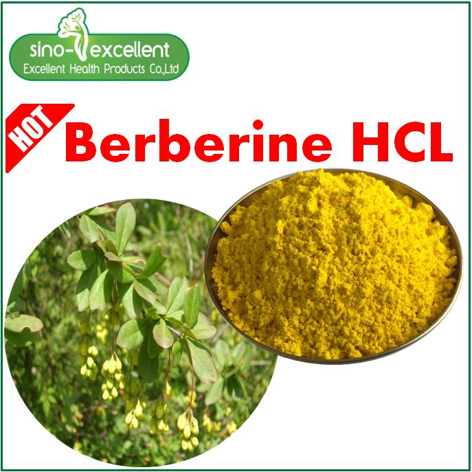 Berberine Hcl Berberis Aristata extract