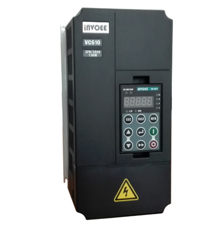 VC610 7.5KW CNC spindle VFD in plastic case