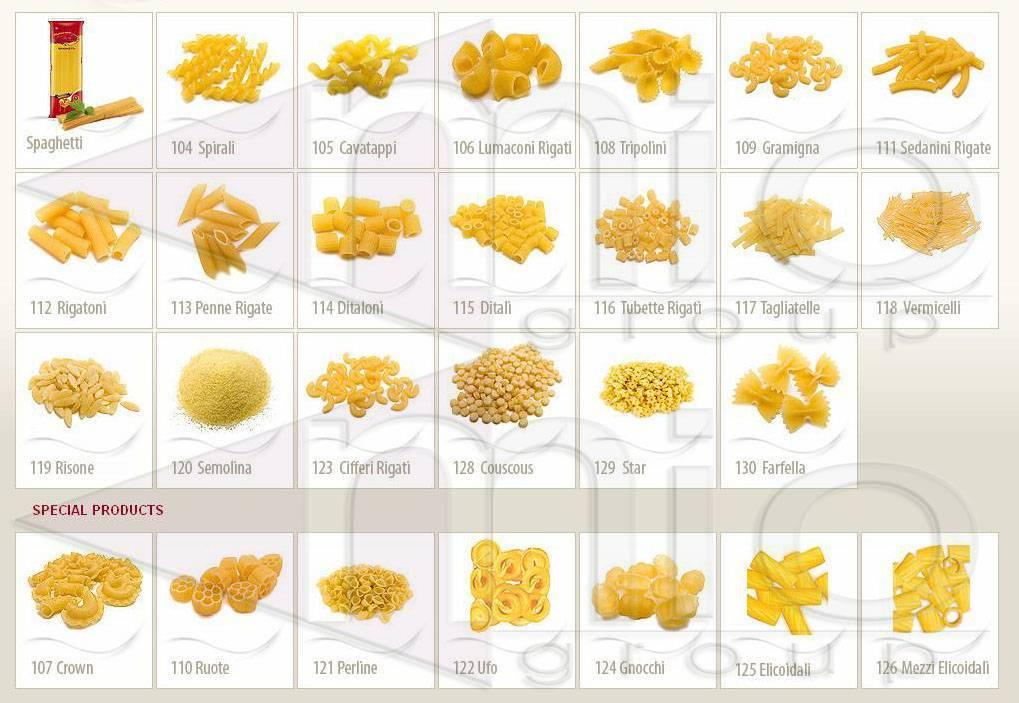 Pasta (macaroni spaghetti)