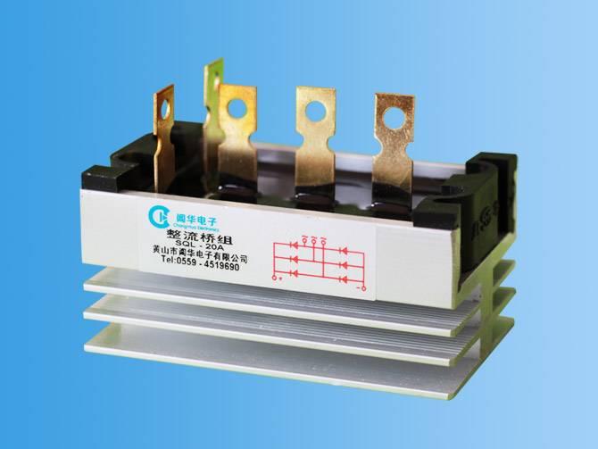 SQL three-phase rectifier bridge of the power generator