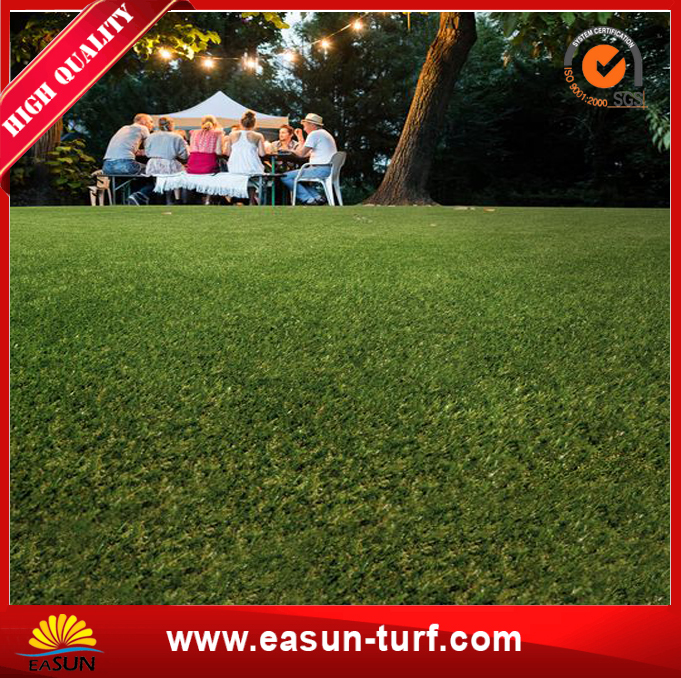 Hot-Selling Garden Synthetic Artificial Grass with W-Shape Yarn-MY