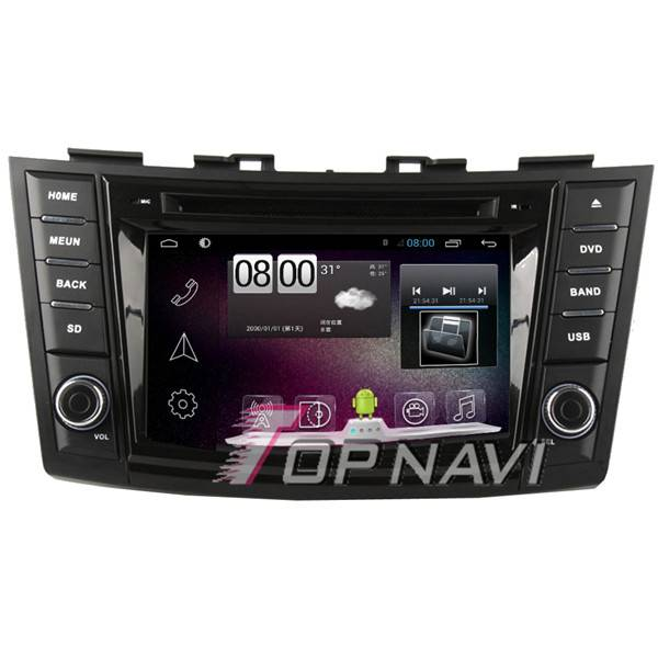 800*480 7inch Android 4.4 Car GPS Player Video For Suzuki Swift Navigation Ipod