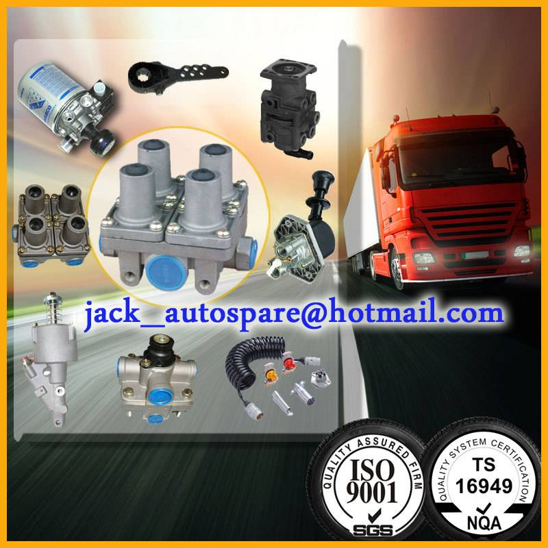 truck foot brake valve