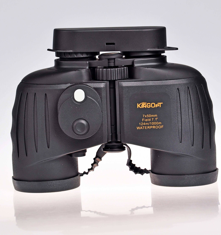 Kingopt 7x50 Professional Military binoculars with compass