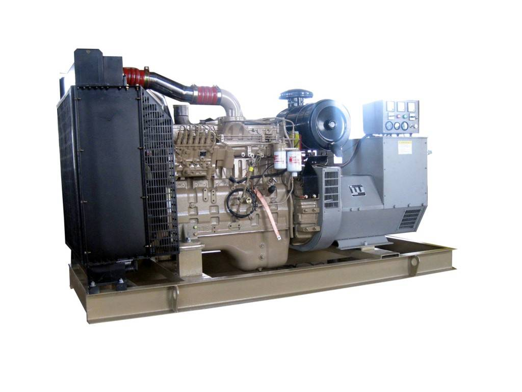 200kw diesel gensets with Cummins engine