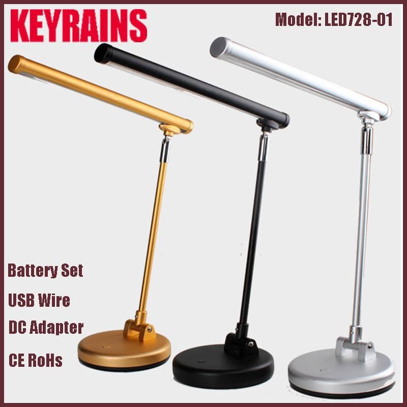 Aluminium touch switch led desk lamp, led reading lamp, led table lamp