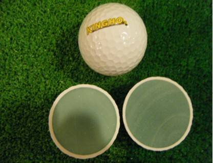 2pieces range golf ball