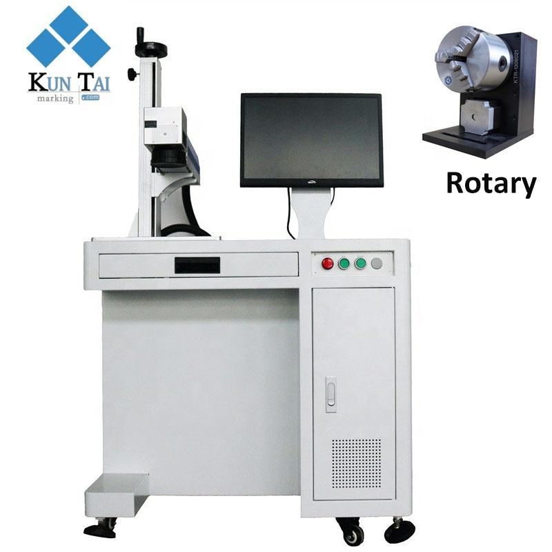Kuntai 20W/30W fiber laser engraving marking machine for marking bird ring