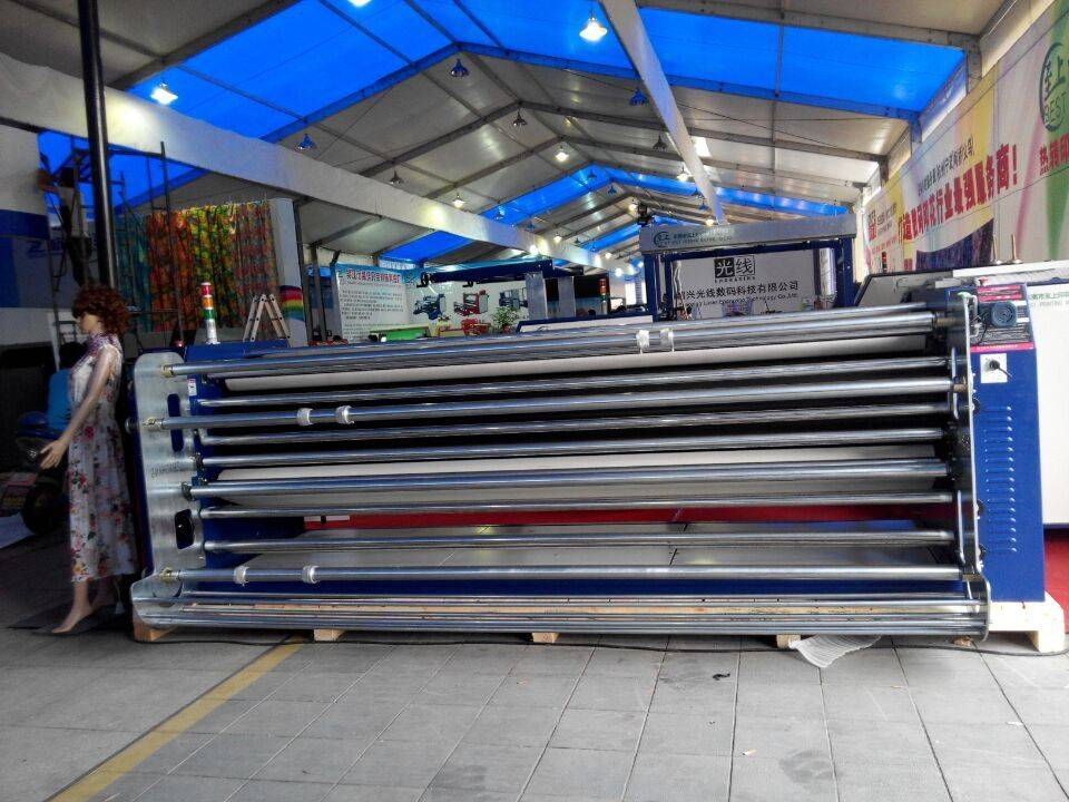 3200MM Digital Sublimation Heat Press Transfer Printing Machine for Curtain Wall Clothes Printing BD