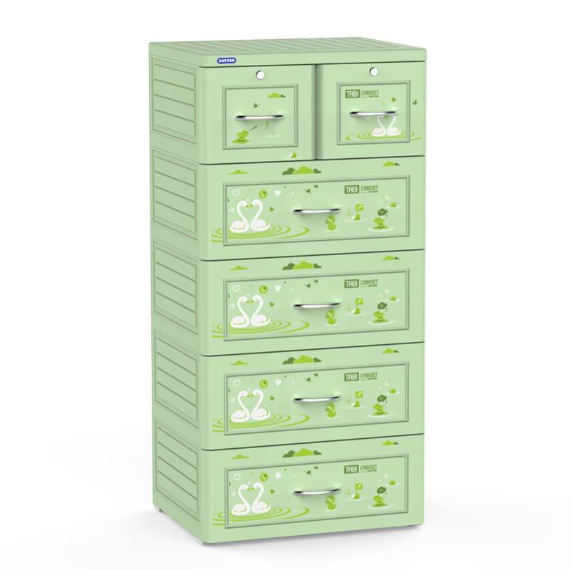 Plastic Children clothing cabinet closet drawer for bedroom living room-Duy Tan Platics Manufacturer