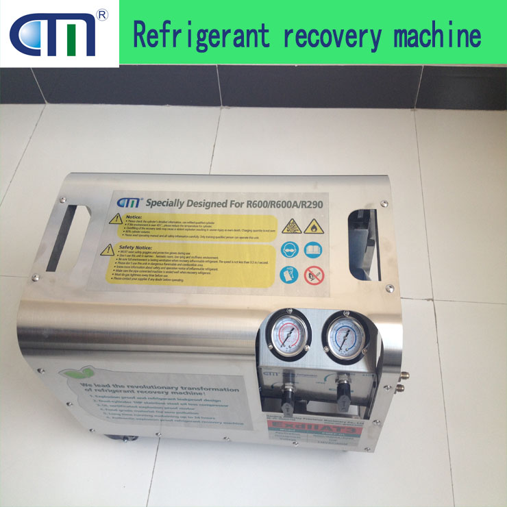 R600/R600A/R290/R1234YF refrigerant recovery pump CMEP-OL oil less explosion proof pump