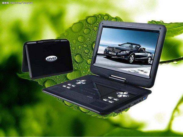 "HD-998 9"" top sale portable DVD Player"