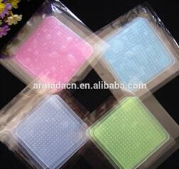 BPA free Eco-friendly silicone food wrap film stretch film to keep foods fresh