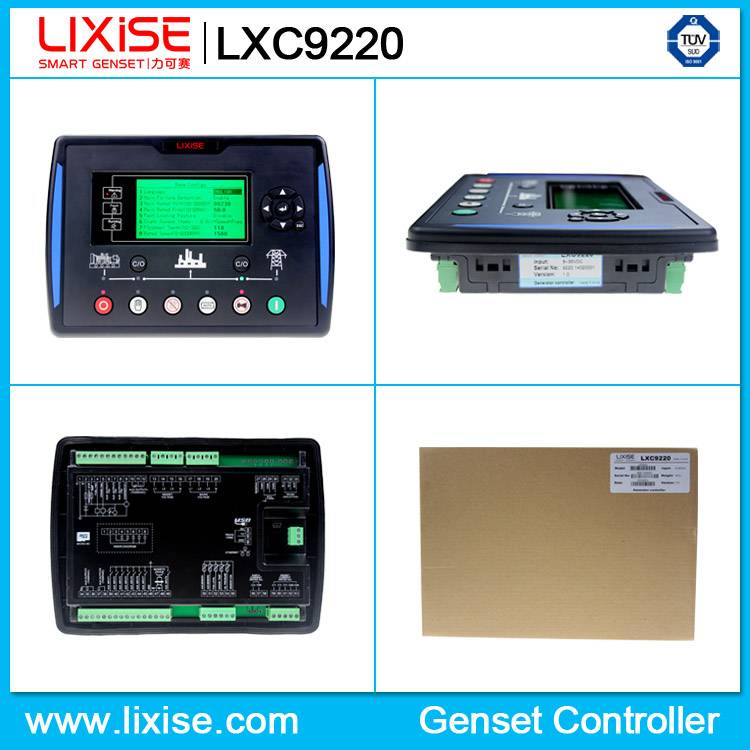 LXC9220 ats digital controller for diesel generator
