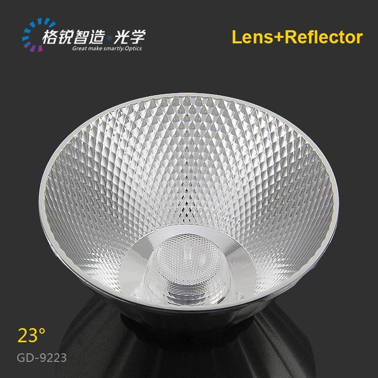 High efficiency COB reflector for track light 92mm