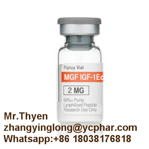 Peptides Hormone 2mg/Vials MGF for Bodybuliding PEG-MGF