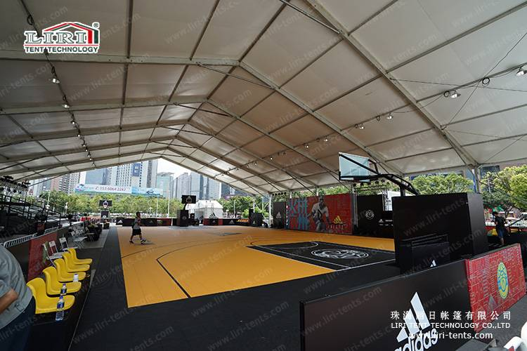 30x40m outdoor sporting event tent for basketball and swimming pool