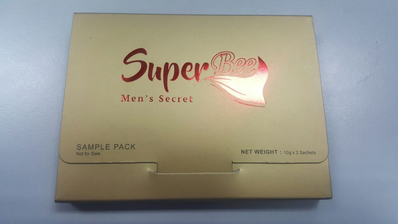 SuperBee Bio Herbs Royal Honey for Men's Secret