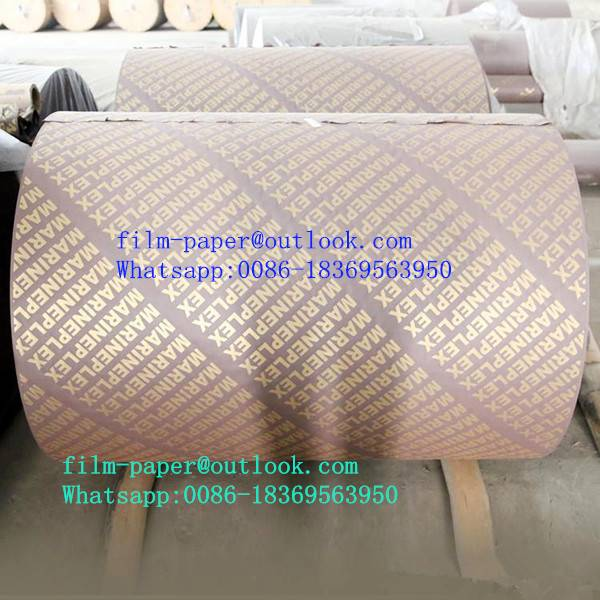 Highest quality phenolic resin impregnated film paper for sale
