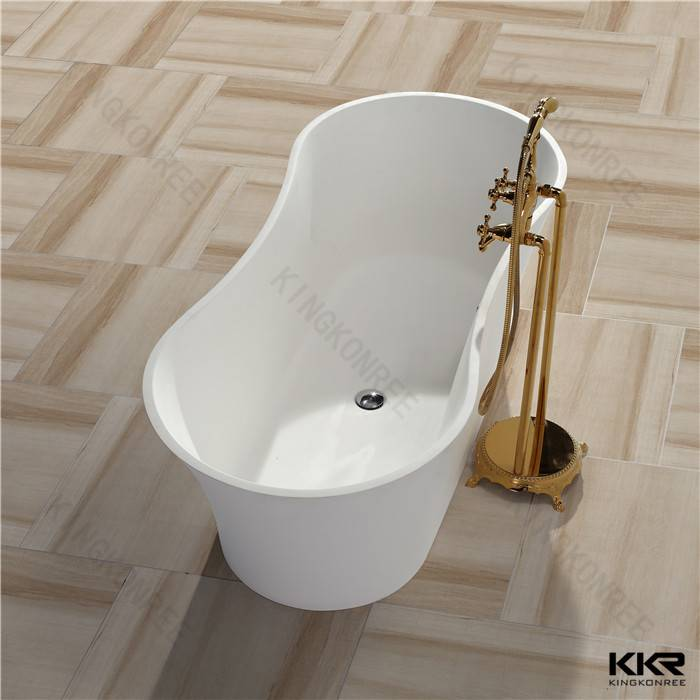 Classice Oval Shape Solid Surface Bathtubs / Freestanding Bathtubs