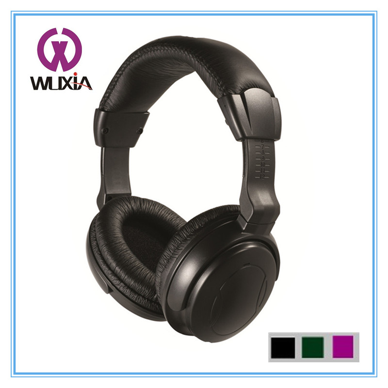 WD701 Active Noise Cancelling Stereo Aviation Headphones