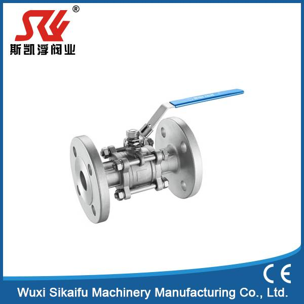 Cast Iron Flange Valve Pneumatic Actuator Ball Valve