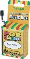 sell paper hand crank music box