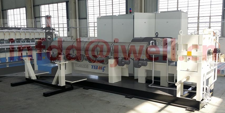 PP Hollow Formwork Sheet Extrusion Line