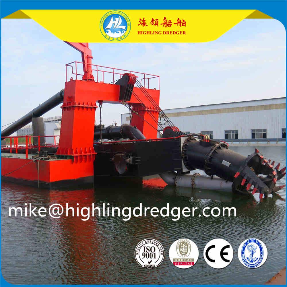 4500 Cubic sand cutter suction dredger