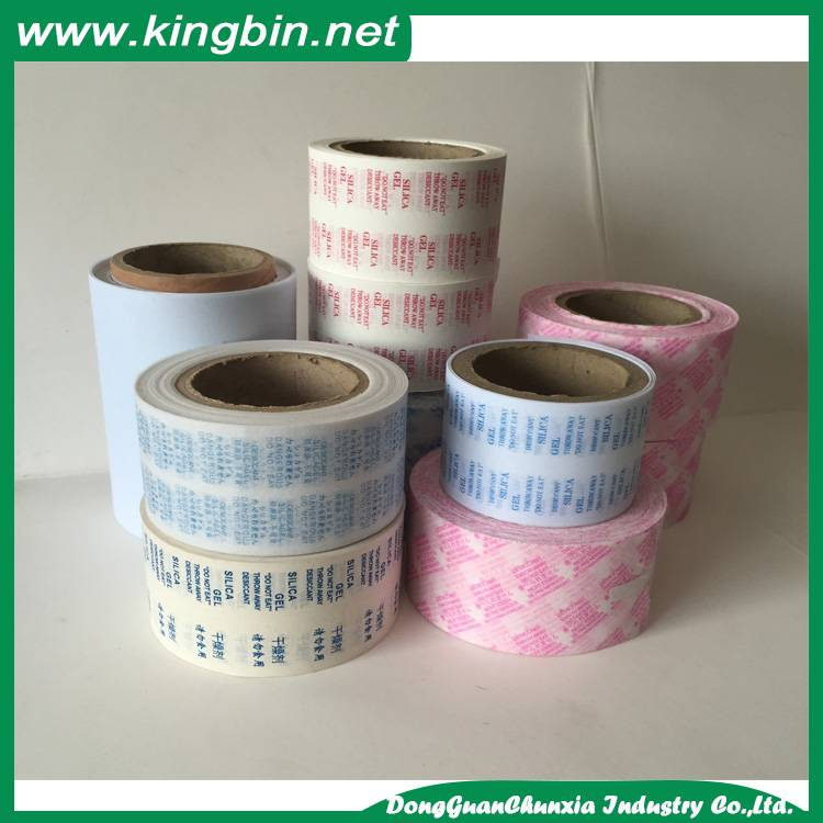 silica gel packing paper