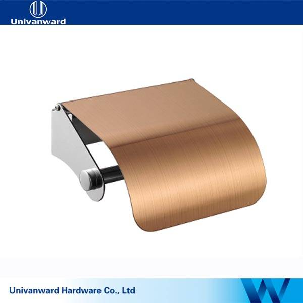 Brushed Steel Stainless steel toilet paper holder