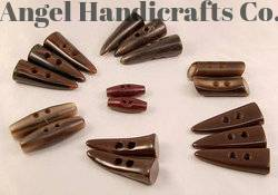 Buffalo Horn Toggle Buttons