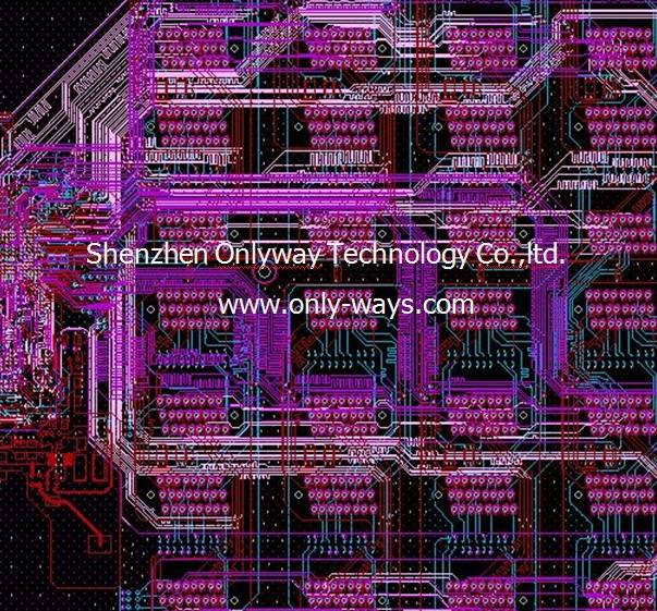 Solid State Disk products pcb design,pcb layout