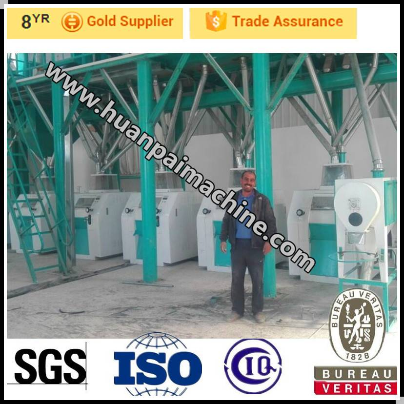 Hot sale with good quality small scale wheat flour milling machine