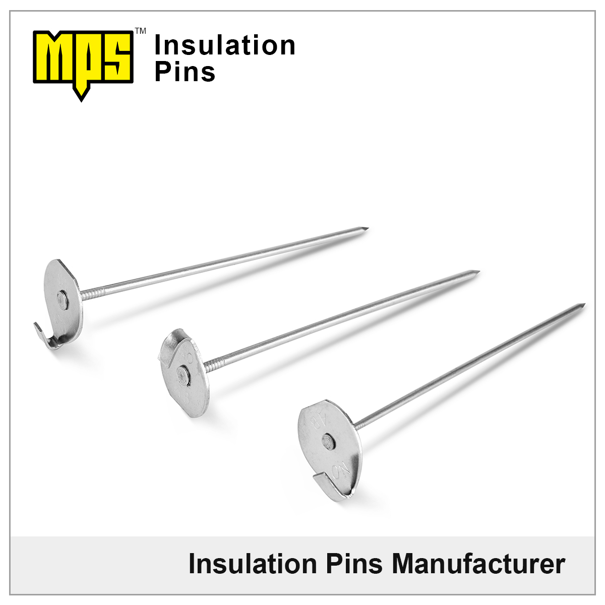 304 stainless steel insulation blanket Lacing Anchors
