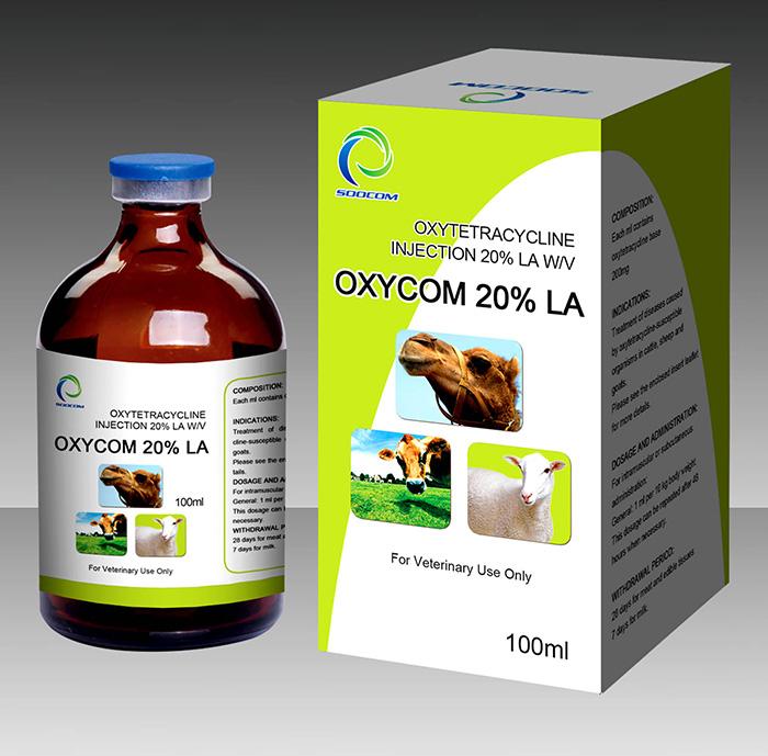 Veterinary Oxytetracycline Injection 20%