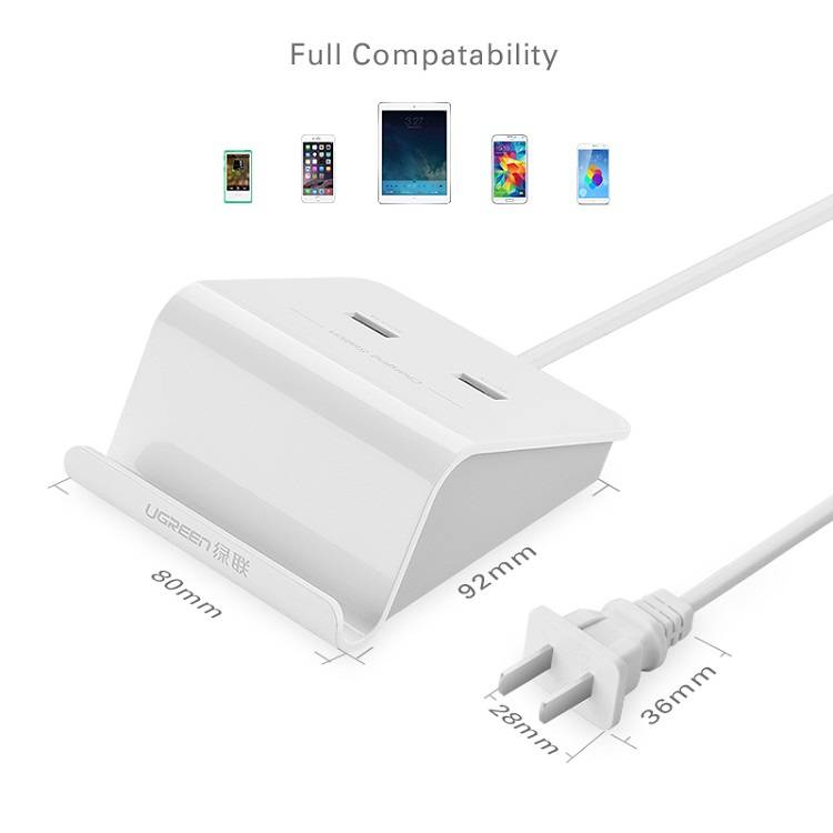 USB Charging Station 2 Ports with Cradle 5V 3A