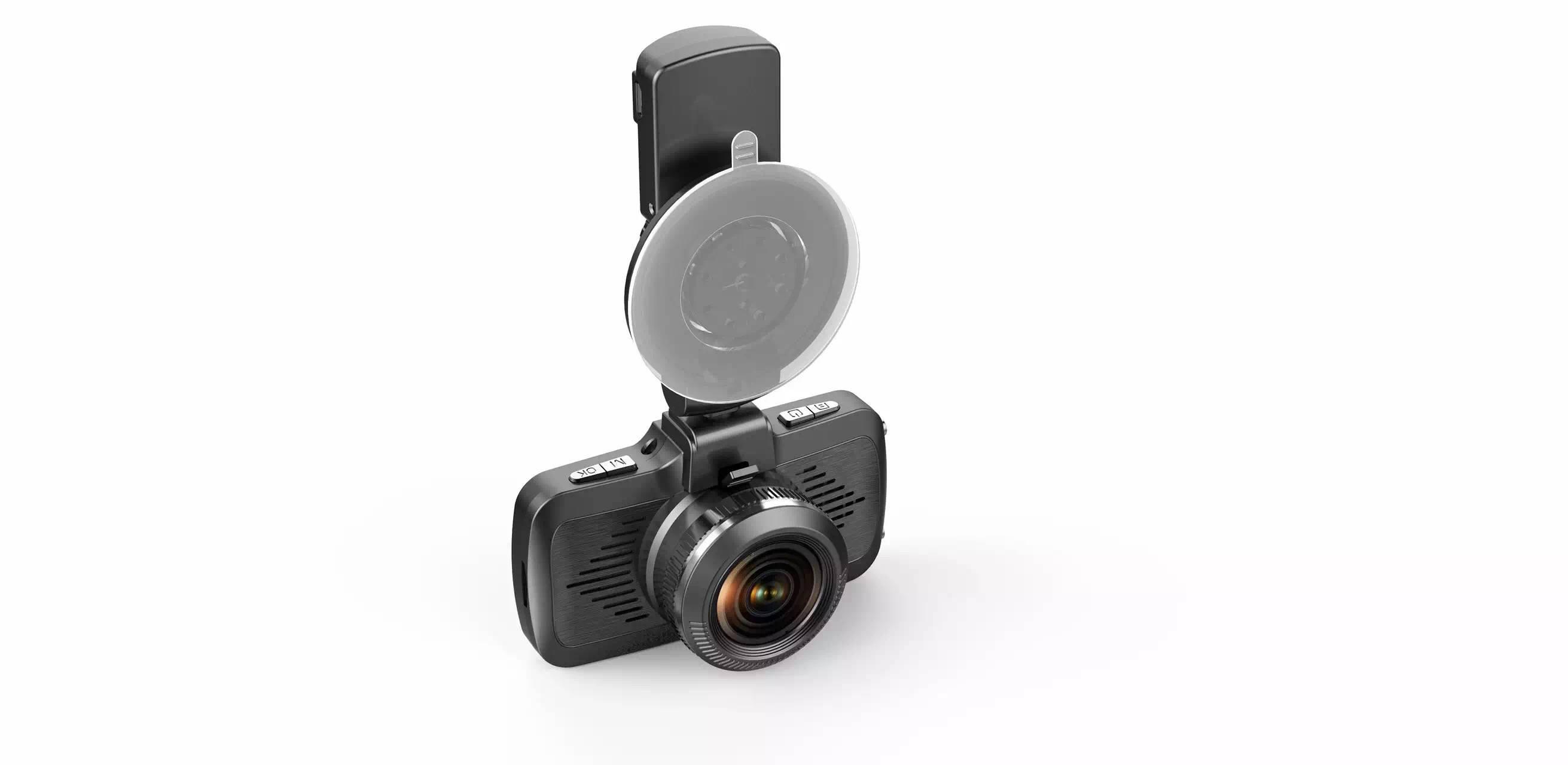 HD 1080P Car Camera Ambarella A7 LA50 Car Dashcam Nice Night Vision With GPS Speed Alarm